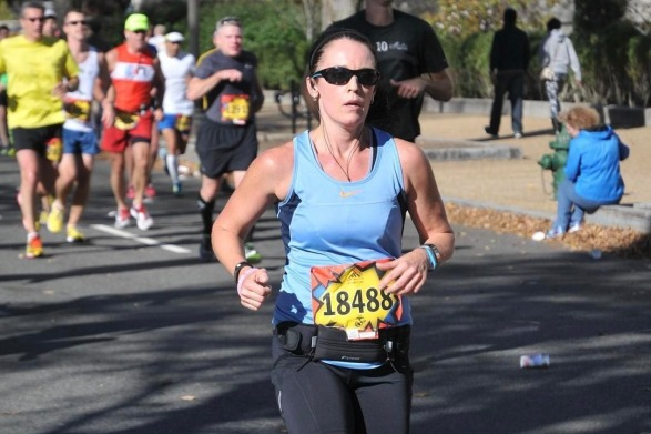 HWC Marathon Runner Dawn Barnes